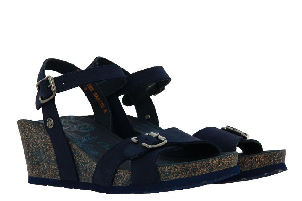 Panama Jack wedge sandal VALENTINE BASICS B3 NOBUCK MARINO