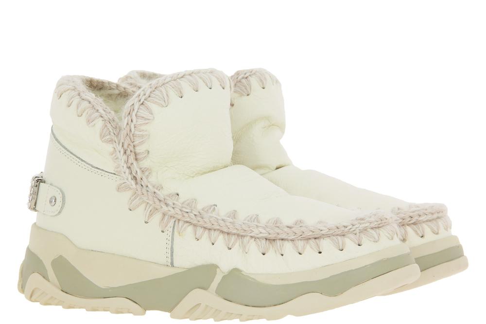 Mou Boots ESKIMO TRAINER WHITE