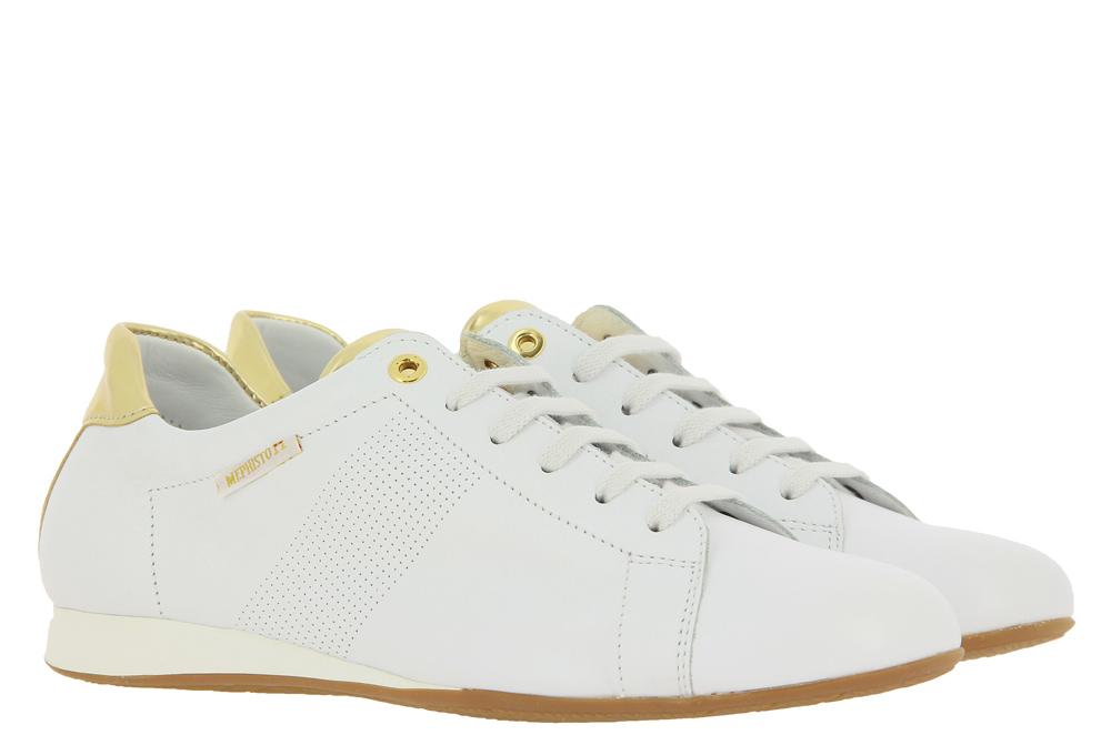 Mephisto sneaker BESSY WHITE SOFTY MAGIC ORO