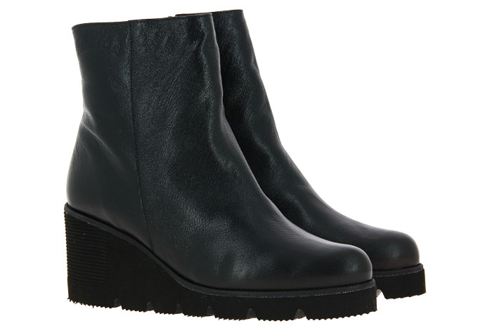 Brunate wedge ankle boots lined NEON SMART NERO