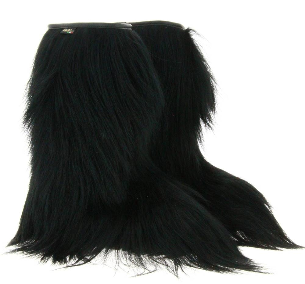 Oscar Sport women's fur boots CAPRA NERO