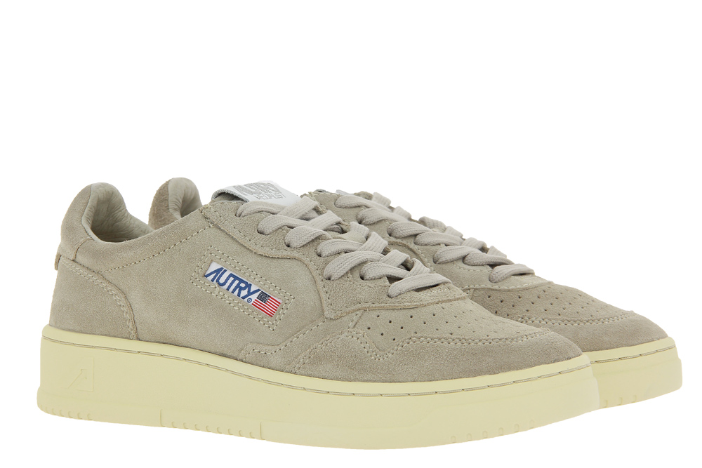 Autry sneaker LOW WOMAN SUEDE SAND