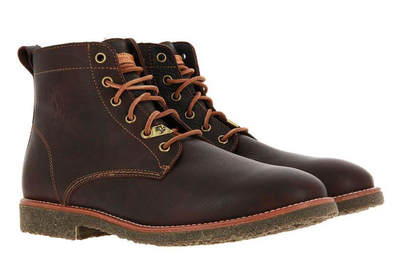 Panama Jack ankle boots lined GLASGOW IGLOO C13 NAPA MARRON BROWN