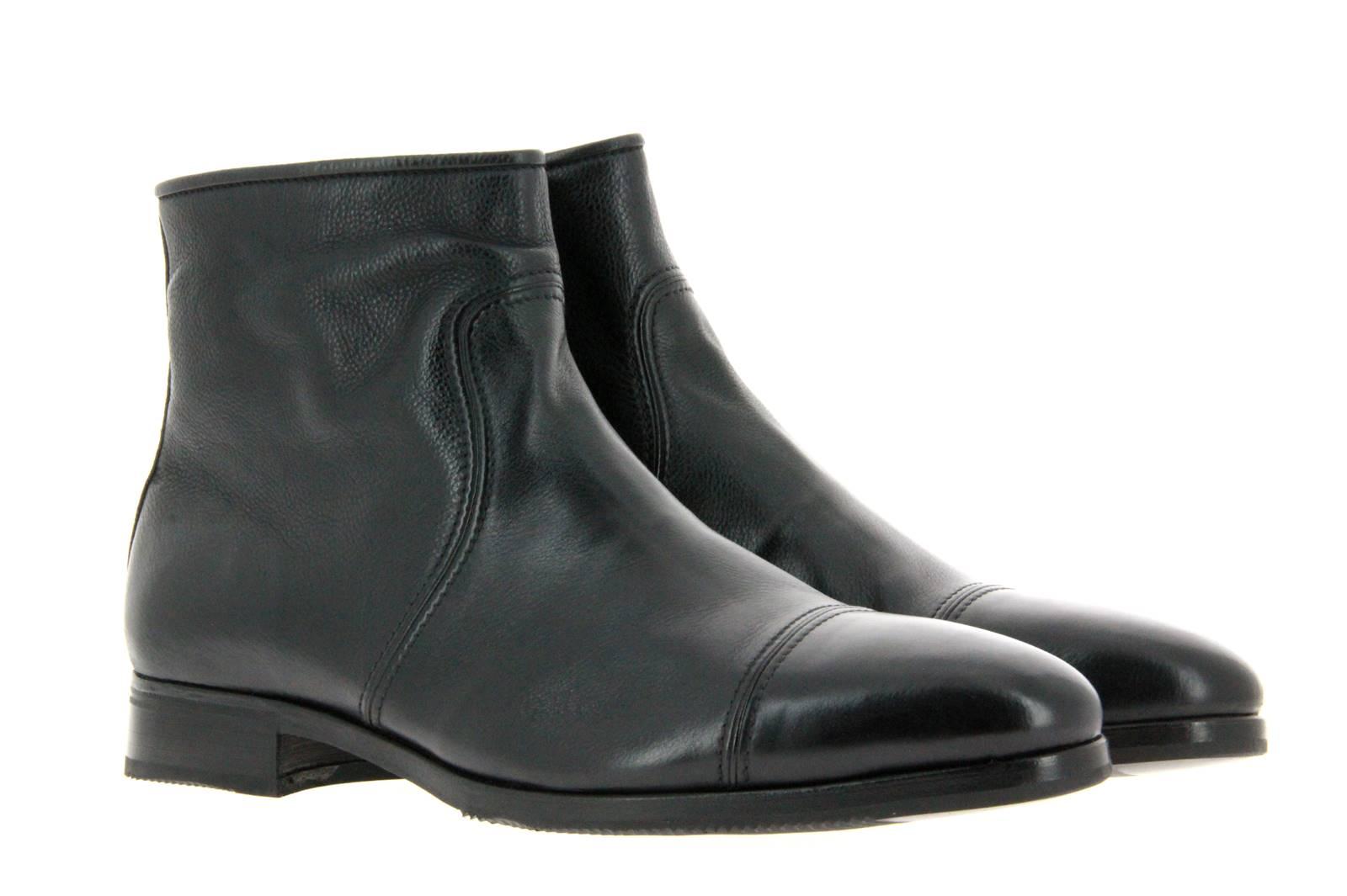 Gravati ankle boots lined CALF NERO BLACK