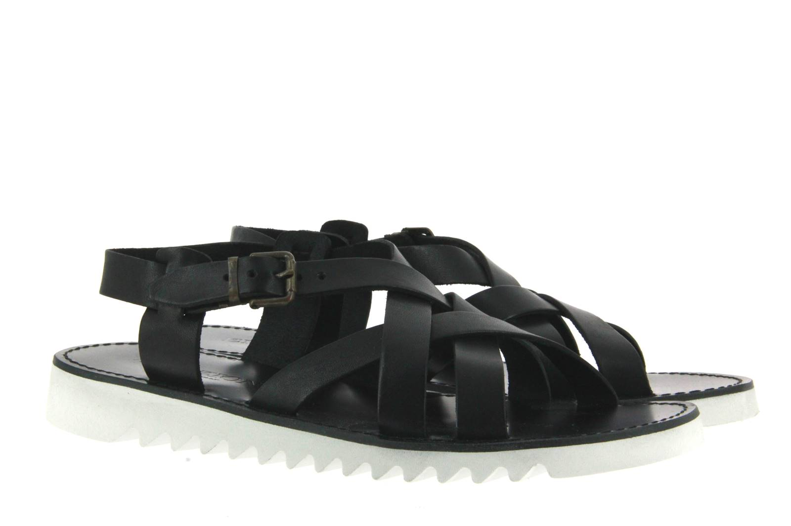 Emozioni sandal LEATHER BLACK