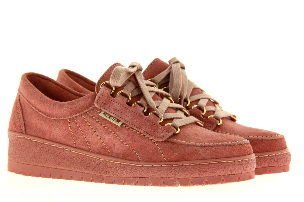Mephisto lace-up LADY VELOUR OLD PINK