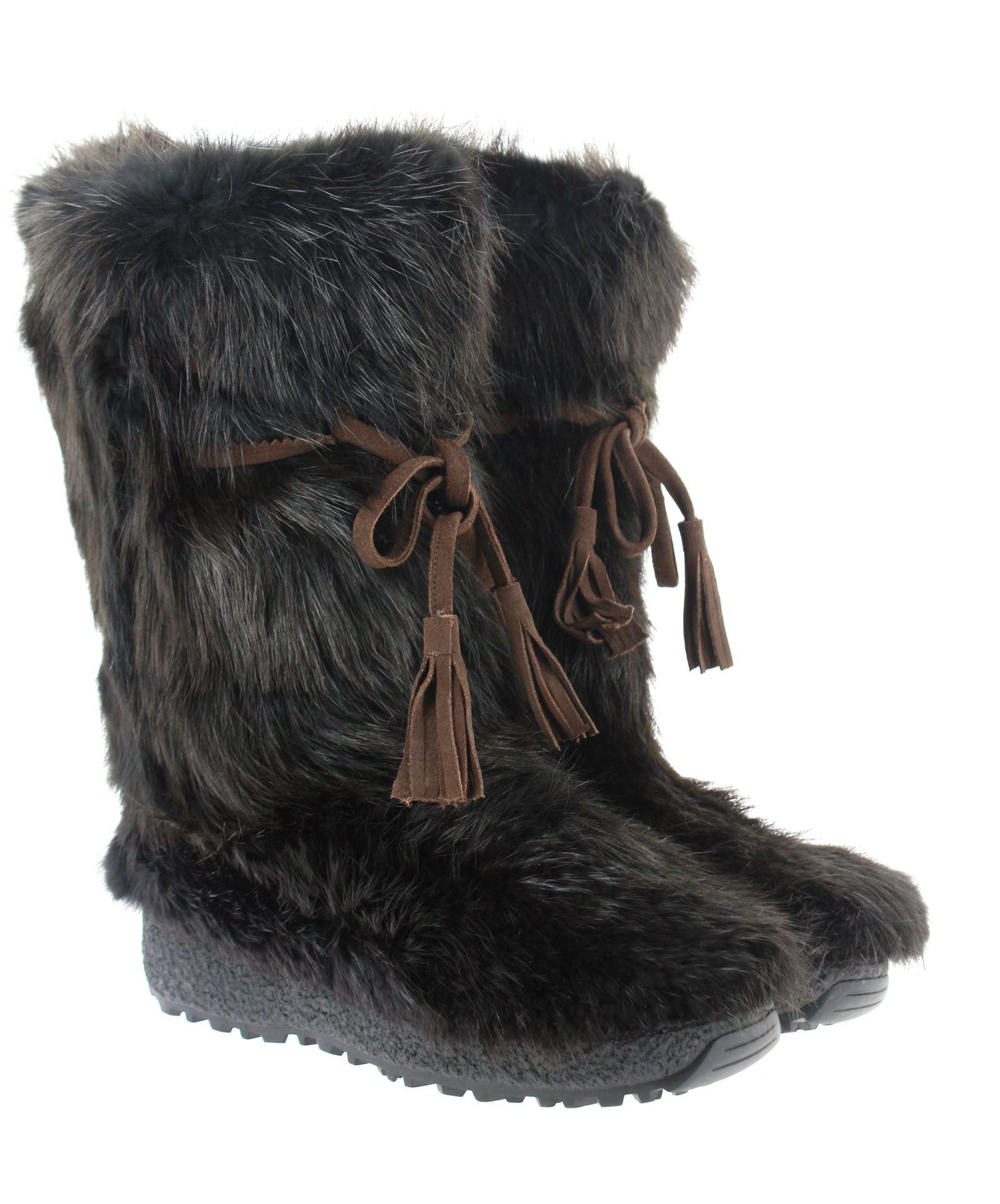 Oscar Sport Men - Fur Boots CASTORO MORO