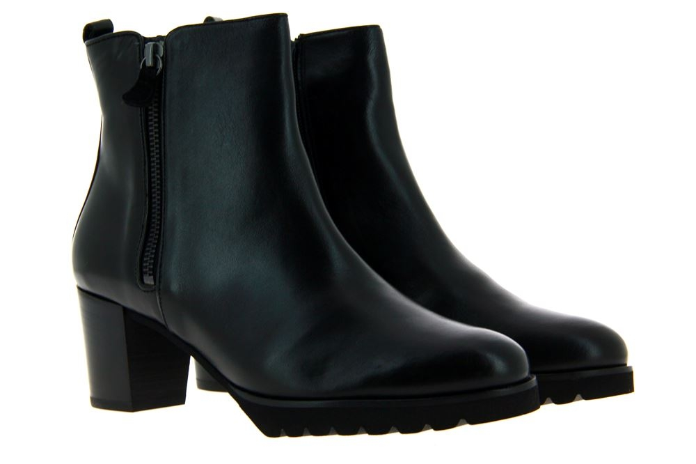 Hassia ankle boots TURIN WEITE-H LEDER SCHWARZ
