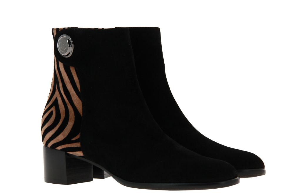 Zocal ankle boots CAMOSCIO NERO CAMEL