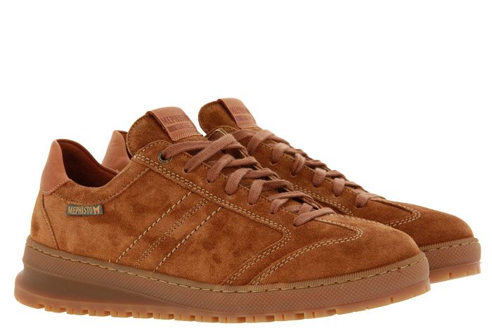 Mephisto sneaker JUMPER VELOURSPORT RANDY TOBACCO