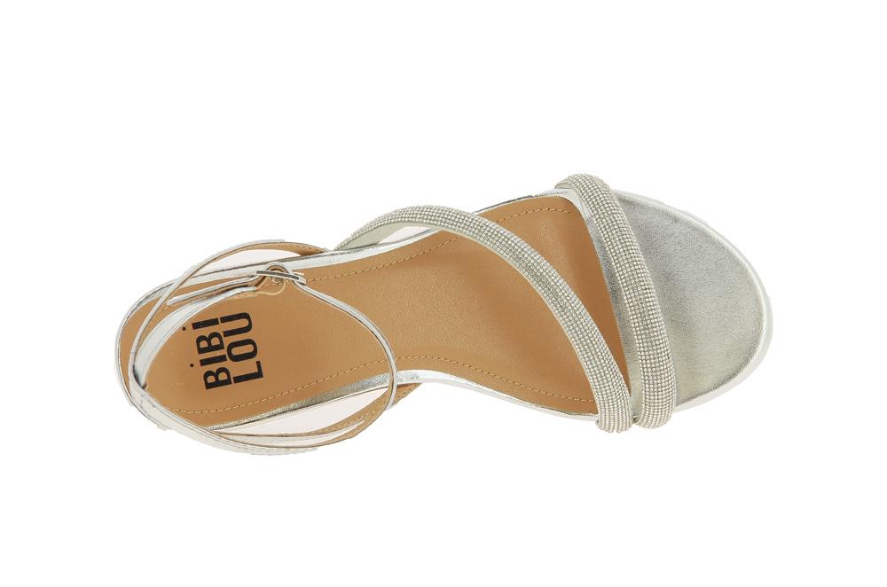 Bibi Lou sandals PLATA SILVER
