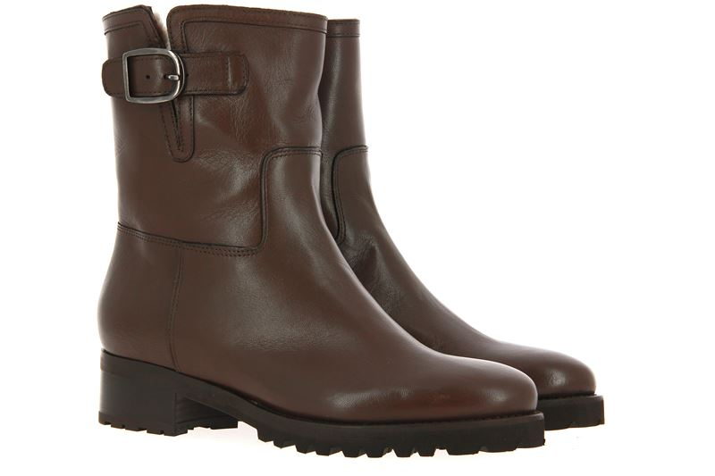 Luca Grossi ankle boots lined FORPAR BOSCO NAPPA MORO