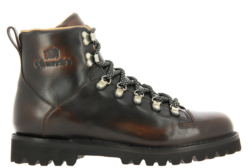 Church's lace-up ankle boots FUME CALF BURNT BLACK