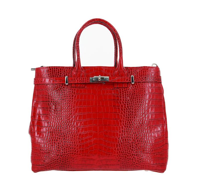 Carol J. handbag VERNICE COCCO ROSSO
