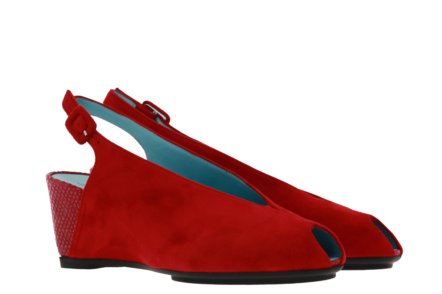 Thierry Rabotin wedge sandal CALI FOREVER ROSSO