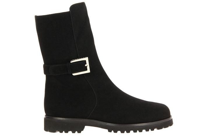 Unützer ankle boots lined VITELLO NERO
