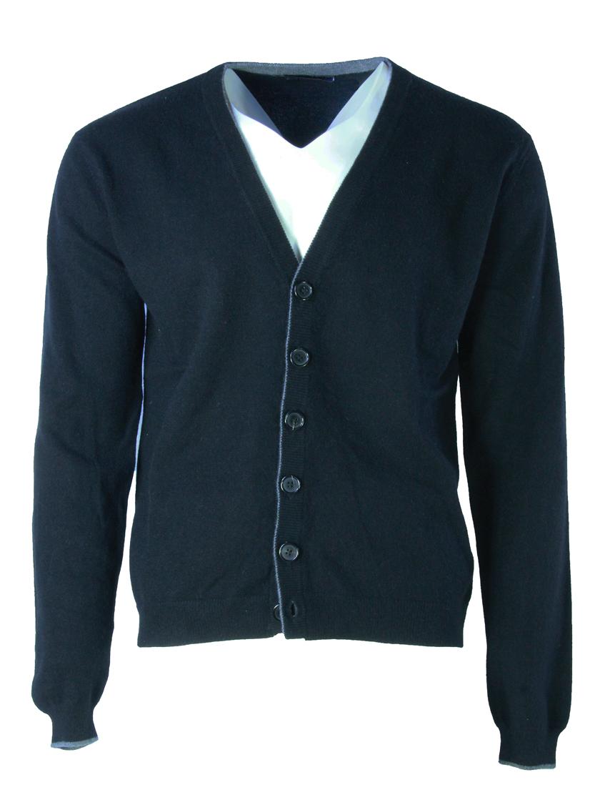 Buxton Street cardigan CASHMERE BLACK