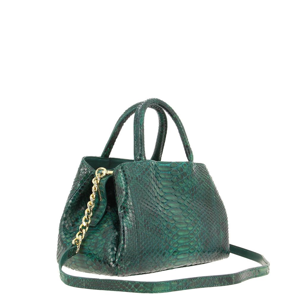 Ghibli shoulder bag PITONE GREEN 635