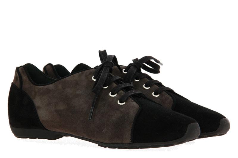 Mania sneaker CAMOSCIO NERO 080