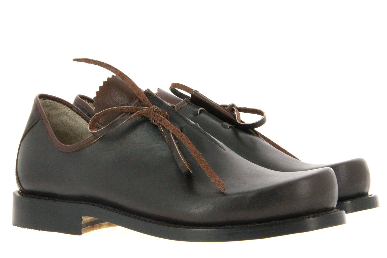 Original Haferl traditional lace-up FRANZ KALBSLEDER BRAUN