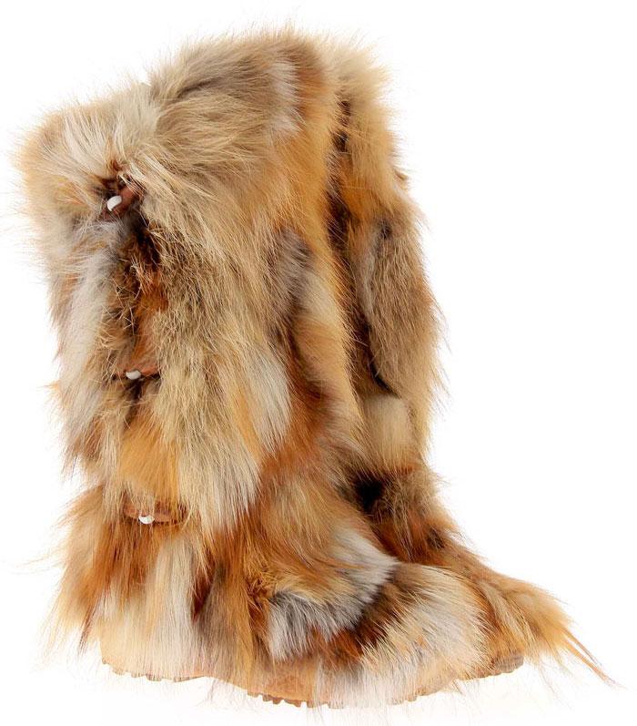 Oscar Sport fur boots YUKON ROSSO