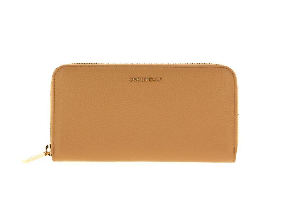 Coccinelle wallet VITELLO CAMEL
