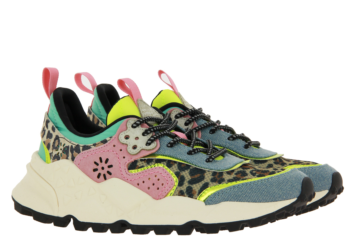 Flower Mountain sneaker KOTETSU WOMAN ANIMALIER