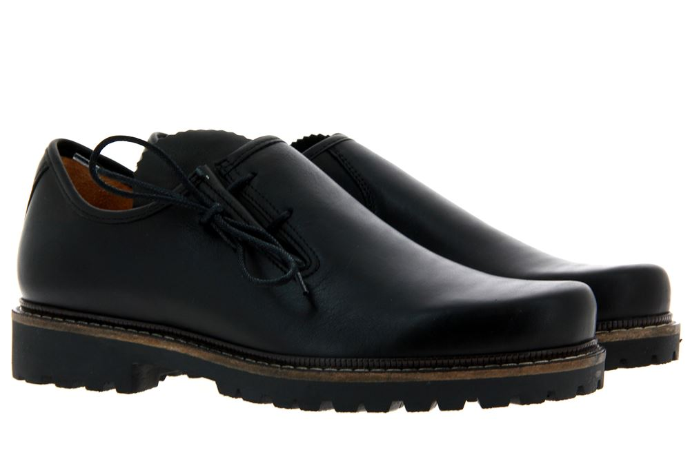 Dirndl + Bua traditional shoe PANIOLO SCHWARZ