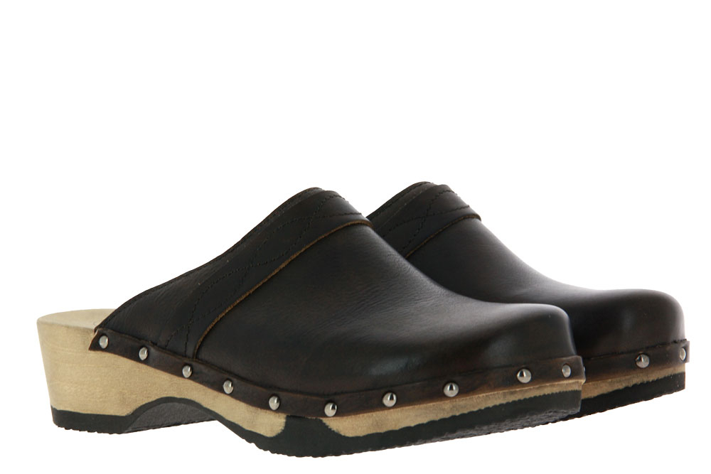 Dirndl and Bua men's clogs SANTIAGO OLIV