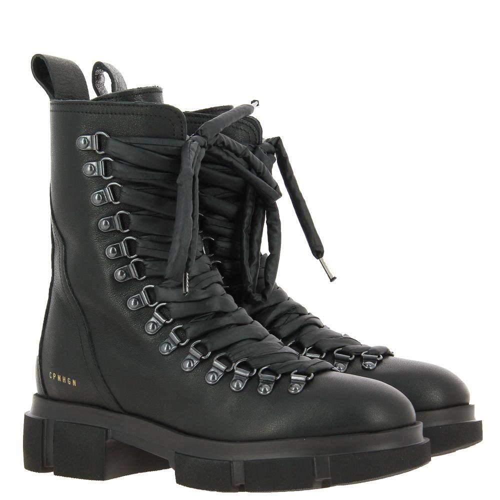 Copenhagen lace-up boots CPH559 VITELLO BLACK