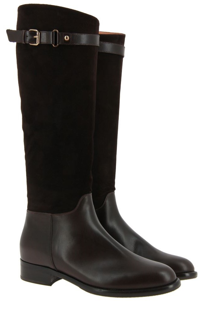 Maretto boots MARRON CAMOSCIO BROWN