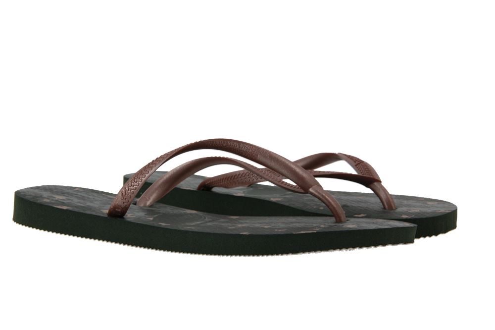 Havaianas toe sandals SLIM ANIMALS GREEN OLIVE