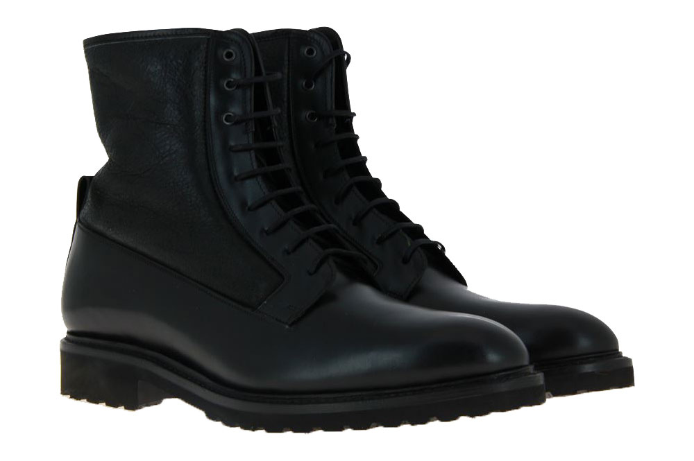 Cordwainer ankle boots lined ELBA WING BLACK