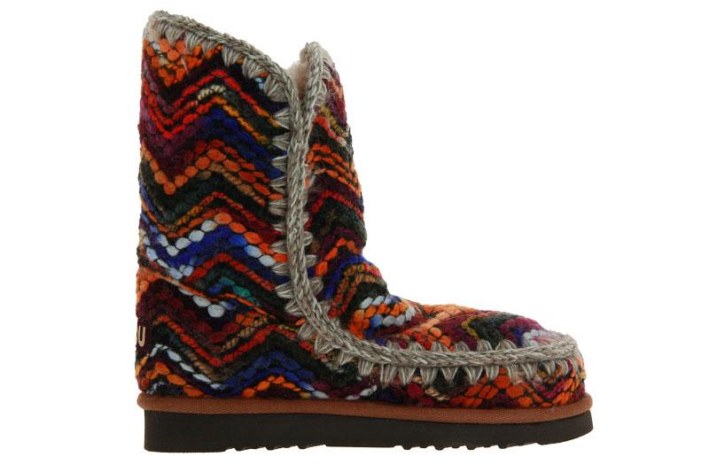 MOU boots ESKIMO 24 WOOL FABRIC WOOL MIX MULTI