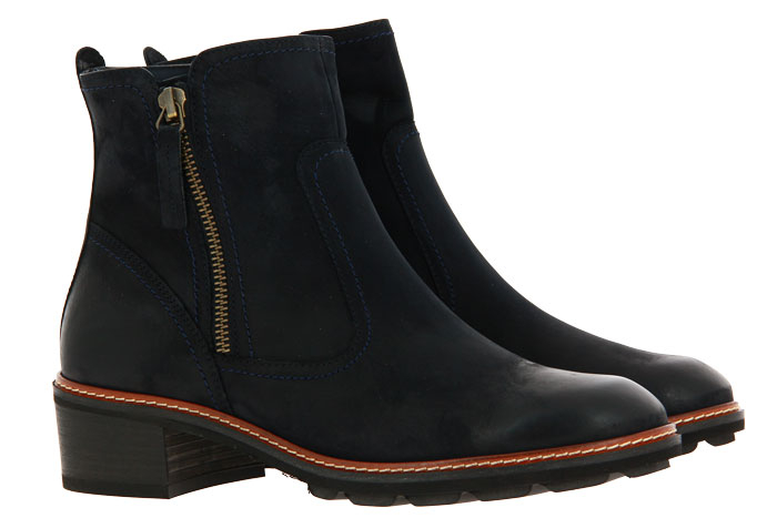 Paul Green ankle boots ROYAL NUBUK OCEAN