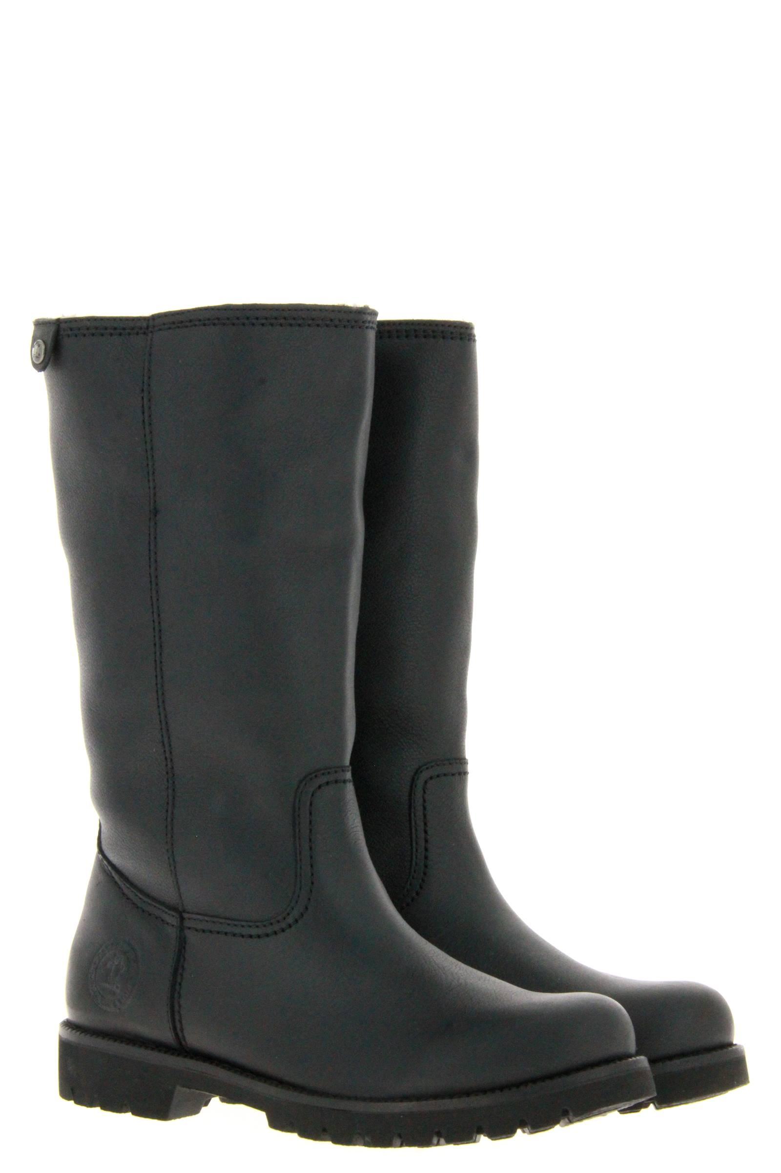 Panama Jack boots lined BAMBINA IGLOO B3 NAPPA GRASS NEGRO BLACK