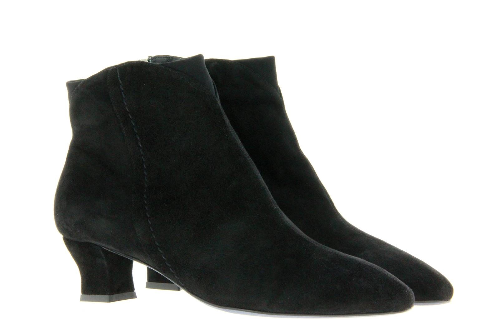 Thierry Rabotin ankle boots lined RITZ CAMOSCIO NERO