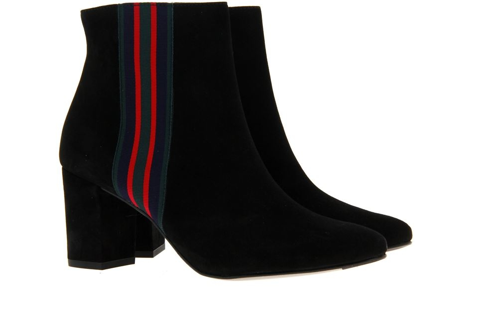 Paul Green ankle boots SAMTZIEGE SCHWARZ