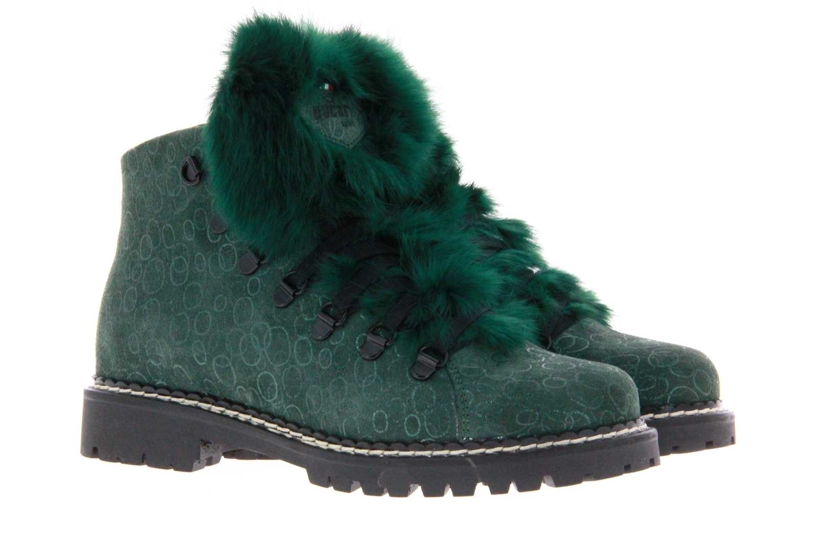 Oscar Sport lace-up boots B-600-GU VERDE