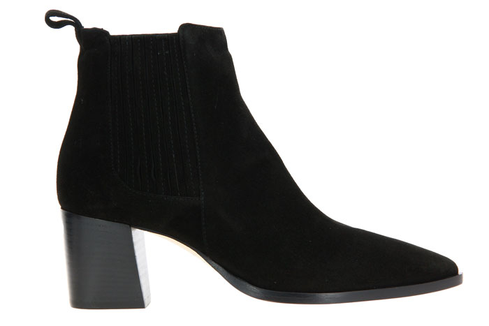 Pomme D'Or ankle boots KARLIE CAMOSCIO NERO