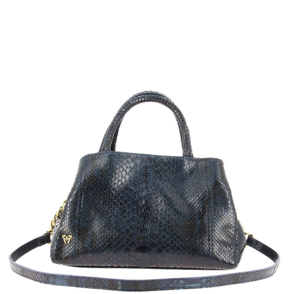 Ghibli shoulder bag PITONE DARK BLUE 647