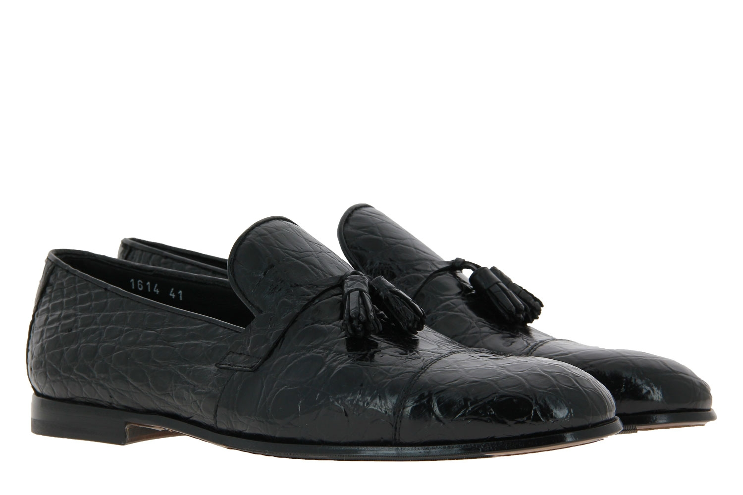 Doucal's loafer FIANCO NERO