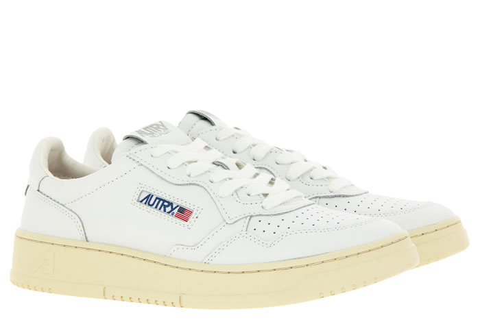 Autry sneaker LOW MAN LEATHER WHITE
