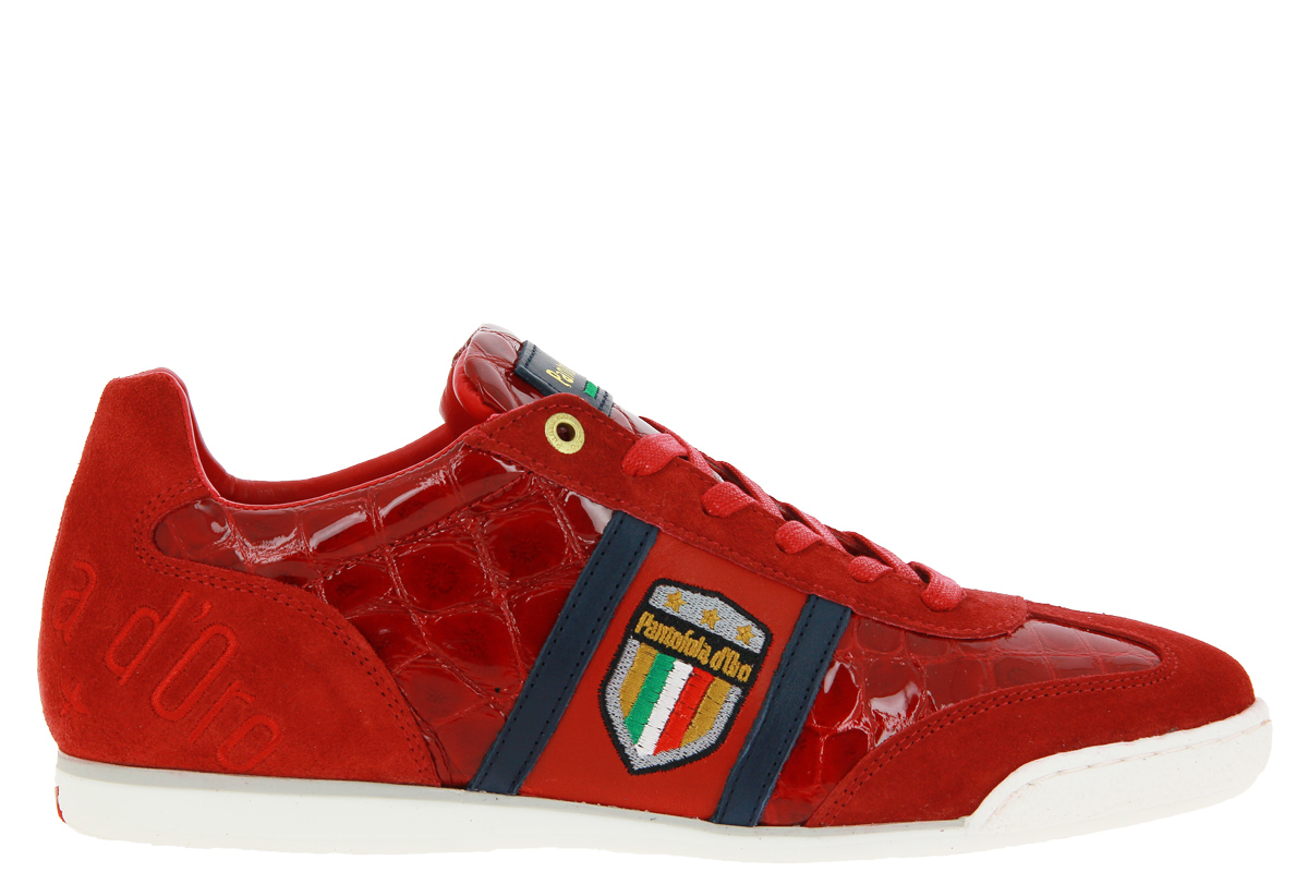 Pantofola d'Oro sneaker FORTEZZA UOMO LOW RACING RED