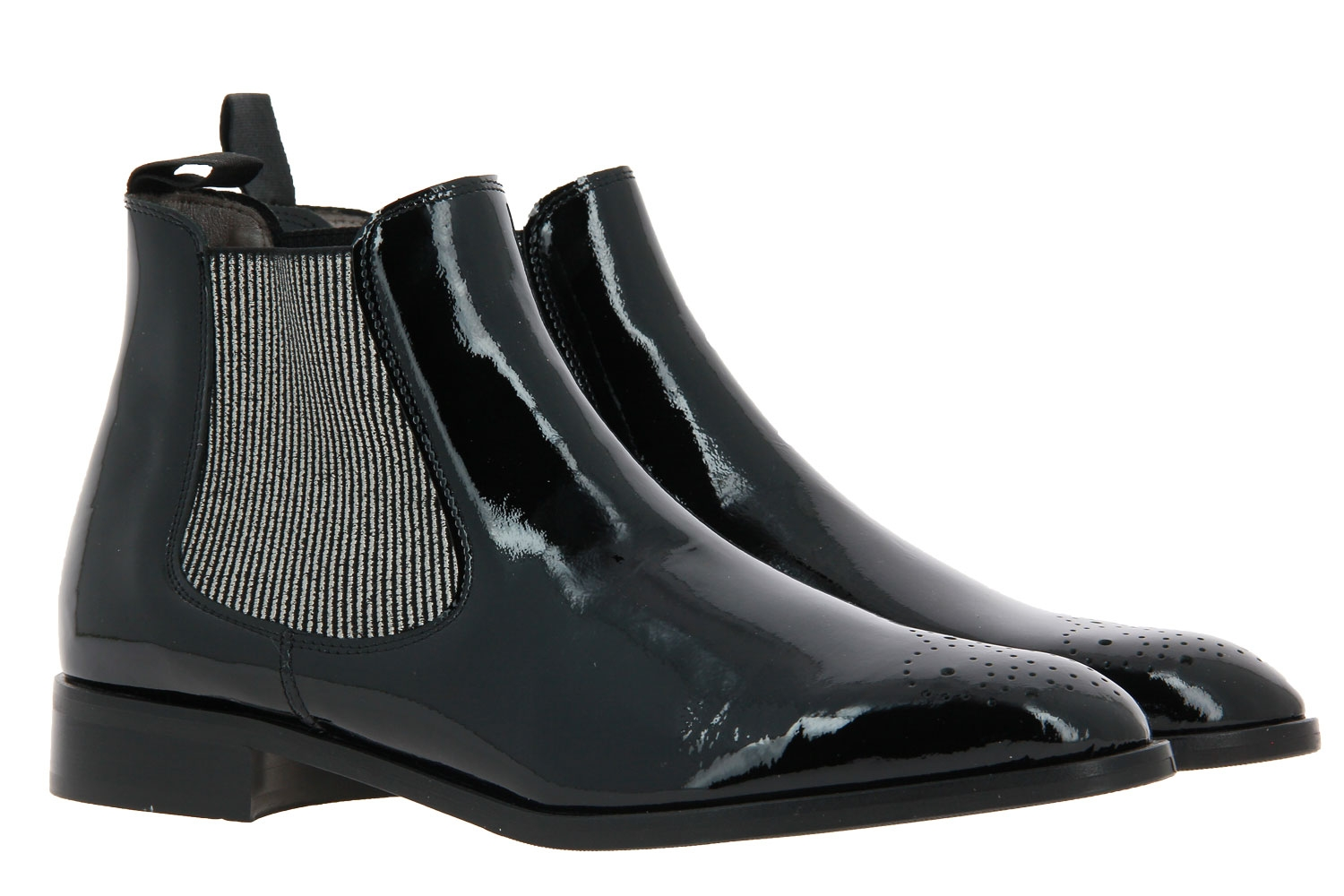 Pertini Chelsea boot VERNIS BLACK