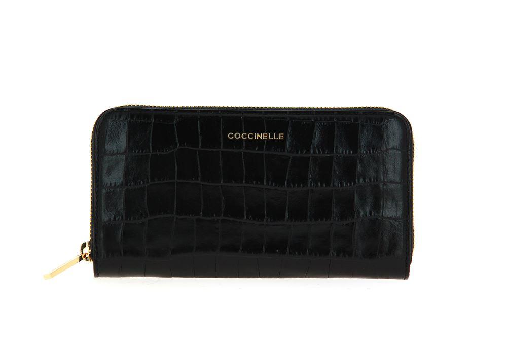 Coccinelle wallet VITELLO NOIR
