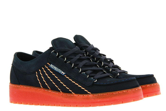 Mephisto Originals lace-up RAINBOW NAVY SPORTBUCK