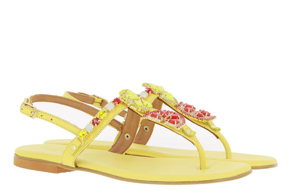 Mosaic thong sandals GIALLO LIMONE