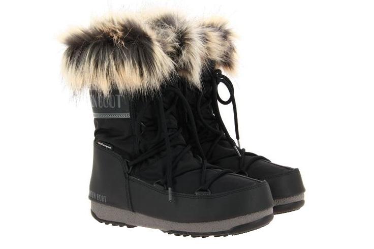 Moon Boot snow boots MONACO LOW BLACK