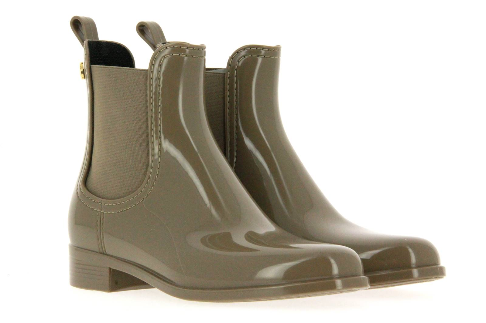 Lemon Jelly rubber ankle boots COMFY TAUPE